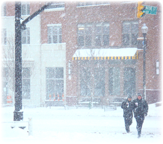 Winter Scene - Columbia Pike